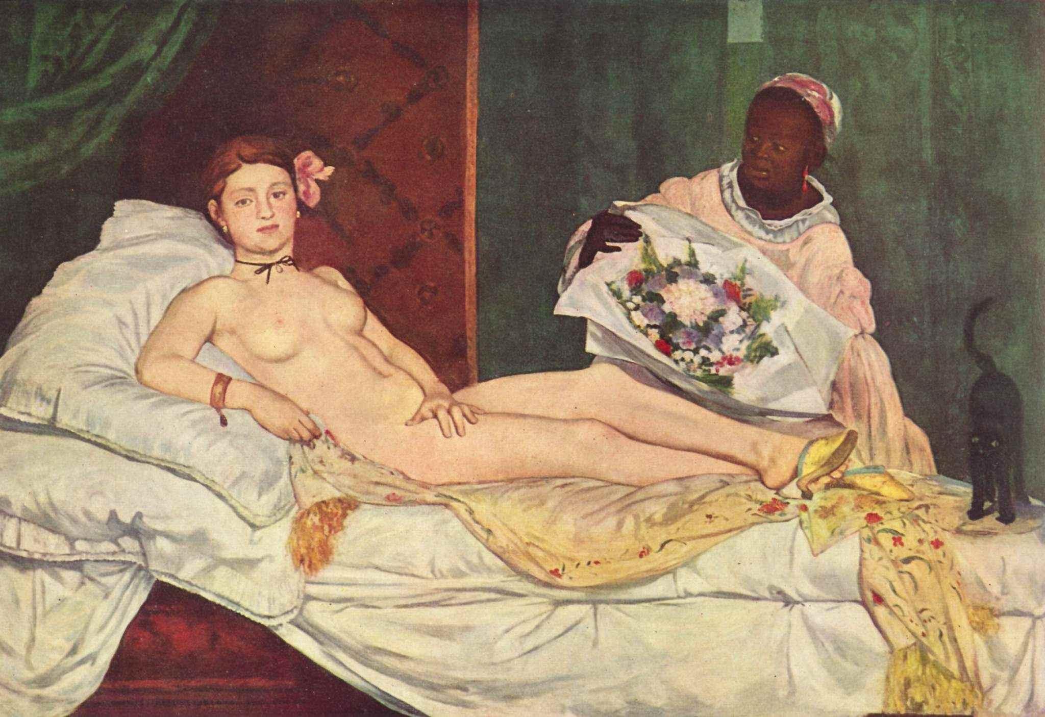 Éduard Manet - Olympia (1863)