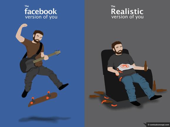dragon.Facebook-Vs-Reality1