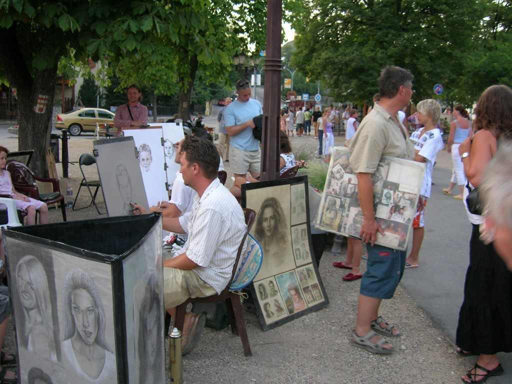 Kollázs-jelleg. Füred, 2006