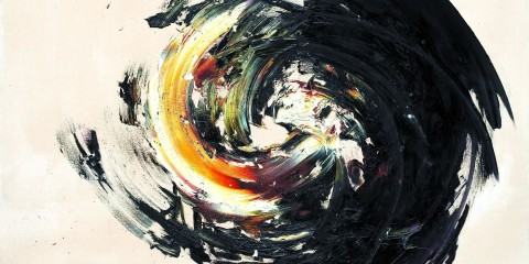 "Judith Reigl, ""Sphärische Komposition"", 1958, 185 x 185 cmNr. 231b"