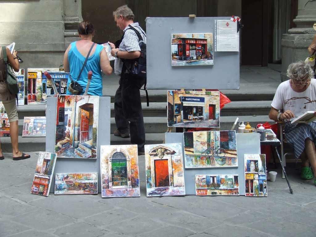 Suvenírművészet. Firenze, 2008