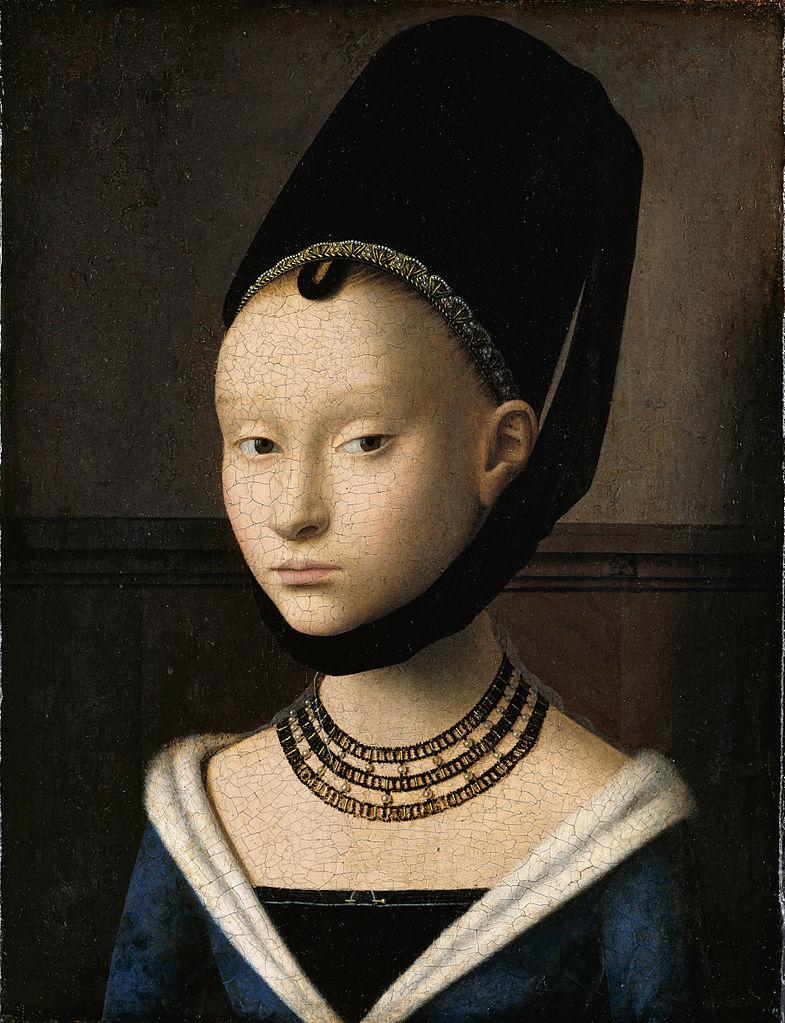 Petrus Christus: Lány portré (1465-70)