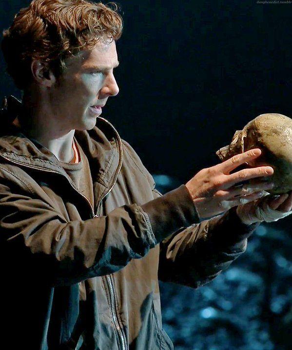 A Benedict Cumberbatch által megformált Hamlet
