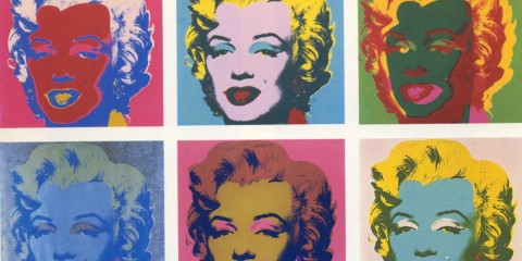 Marilyn-Screen-Prints-by-Andy-Warhol