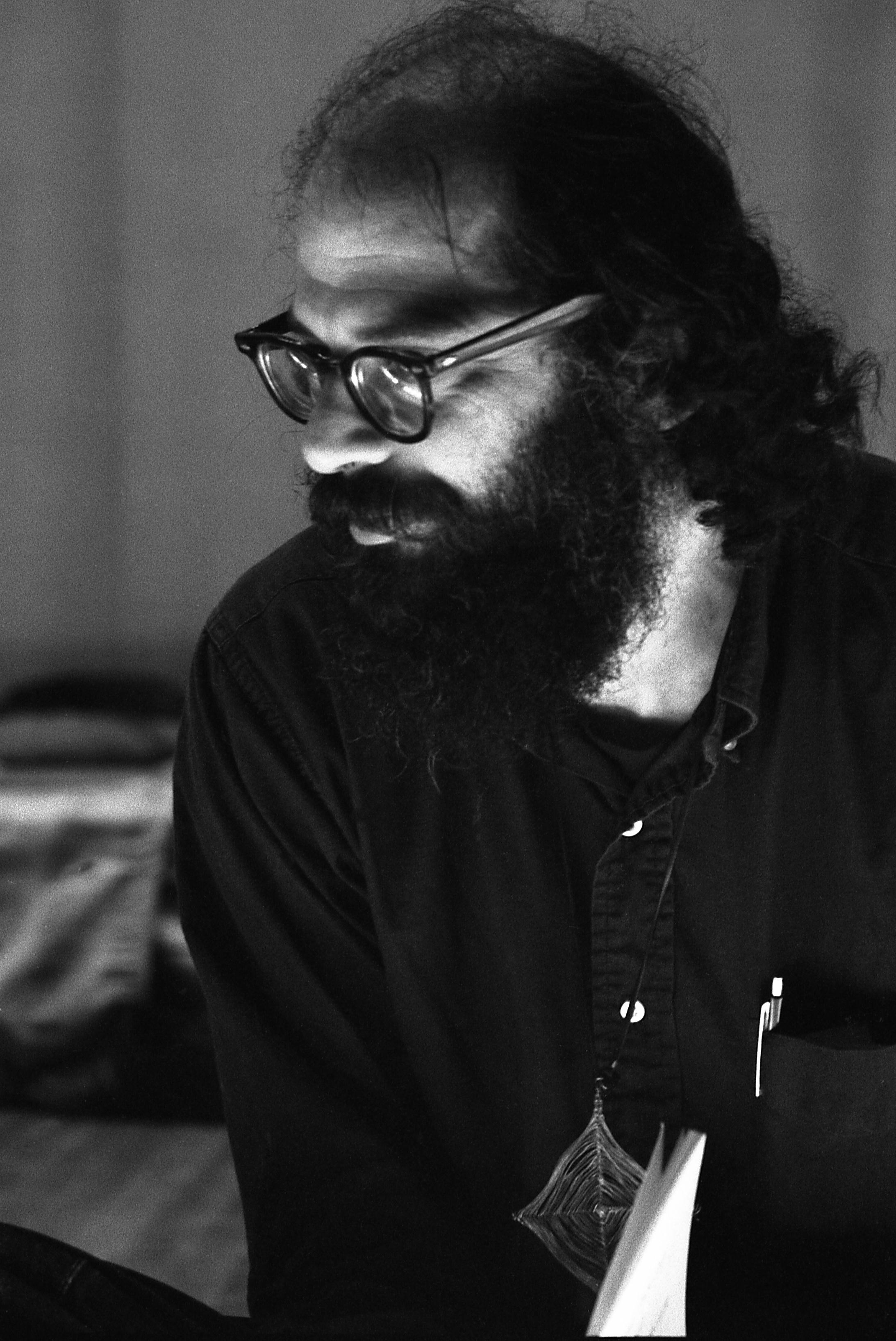 1. kép Allen Ginsberg portréja © Fotó: Alain Dister