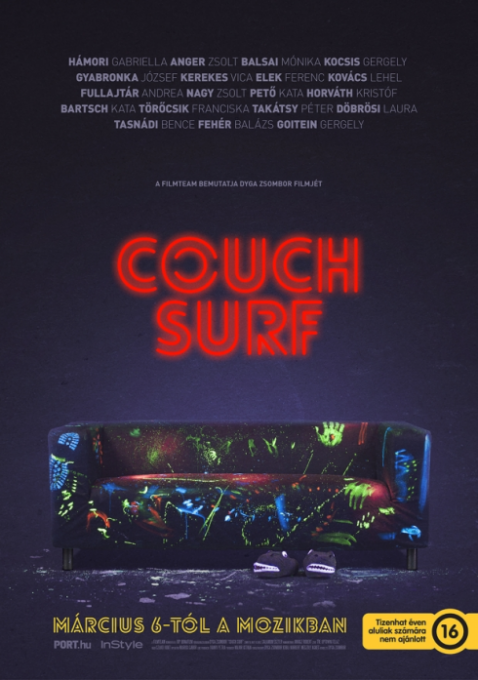 Couch Surf plak