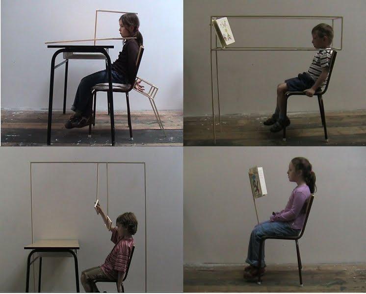 Eva Kot'átková: Ülj egyenesen!, 2008,