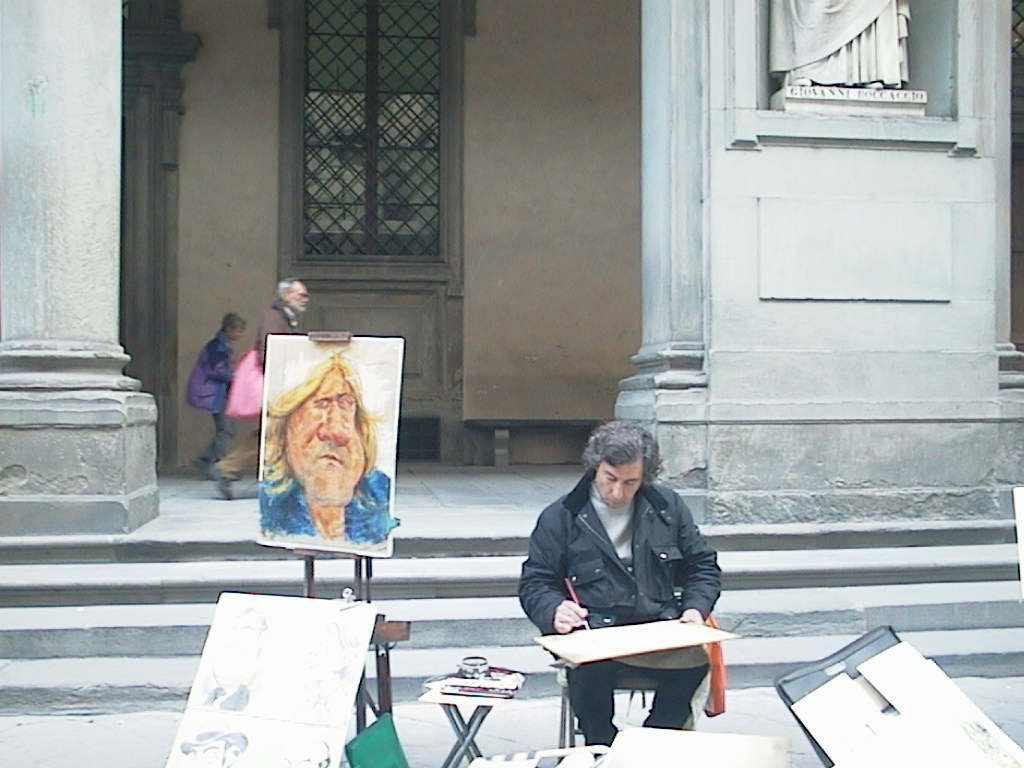 Jelenlét az utcán. Firenze, 2007