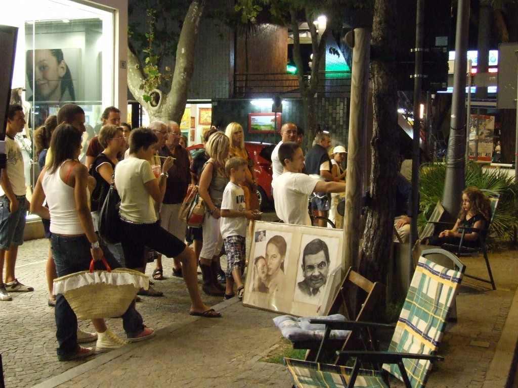 Nézői tevékenység. Cesenatico, 2007