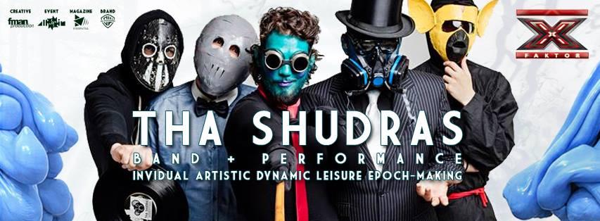 Fotó a Tha Shudras zenekarról, a hivatalos Facebook oldalukról