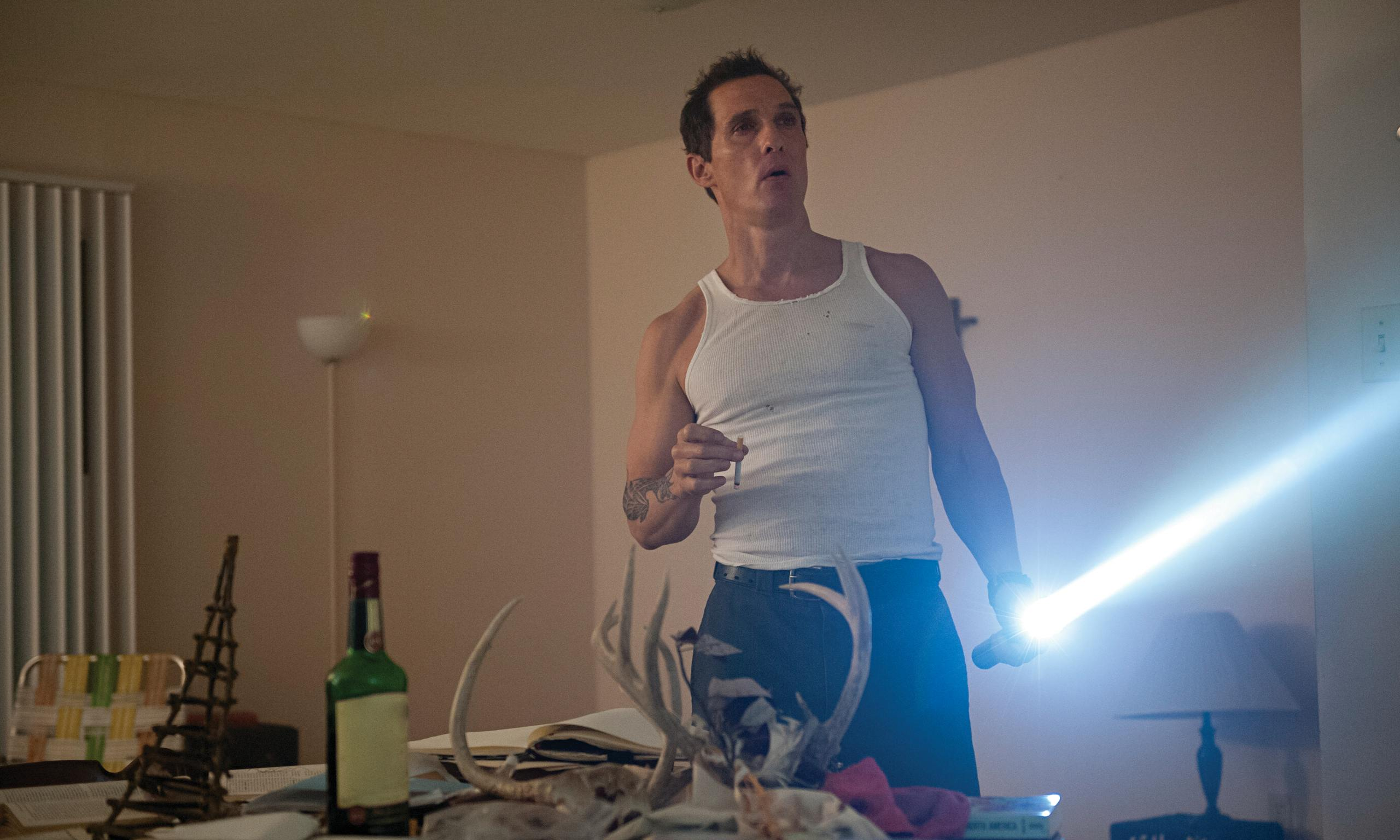 Rust Cohle … taking his work home again.
