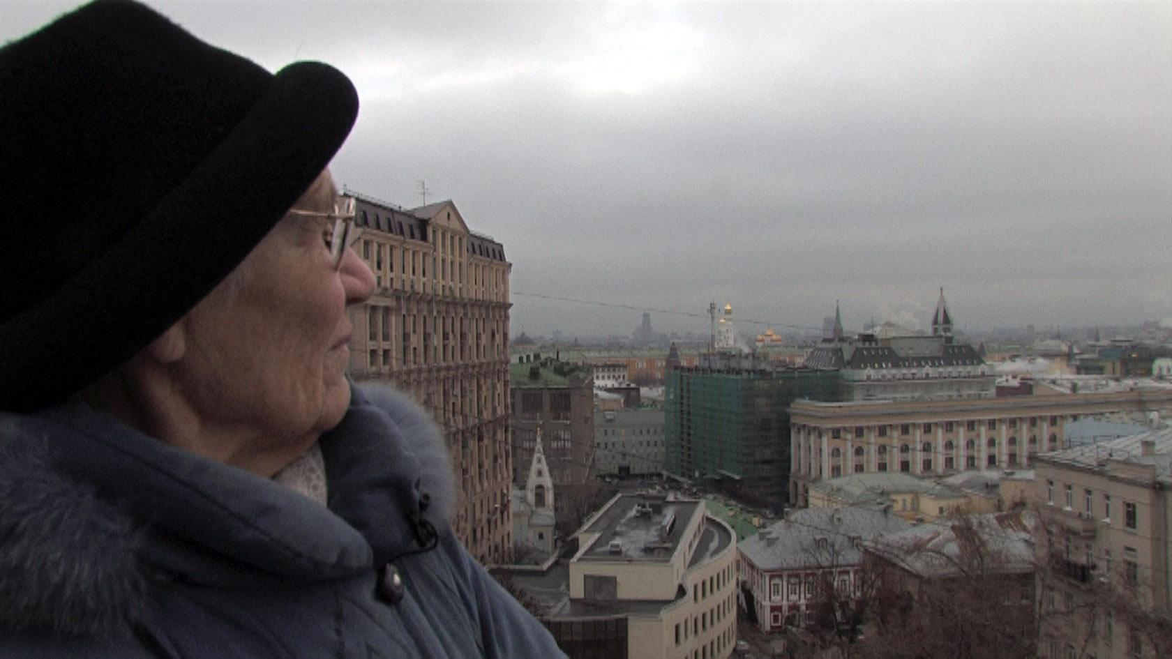 A város felett (filmrészlet)