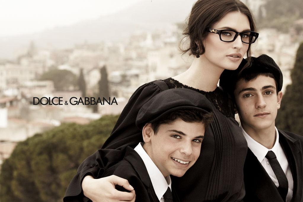 Dolce and Gabbana szemüvegreklám 2012. ősz