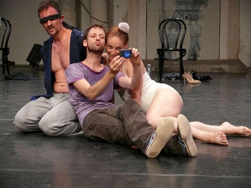 Niv Sheinfeld and Orean Laor Dance Projects (Izrael): Bolondok hajója. Fotó: Révész Róbert, forrás: MASZK Egyesület