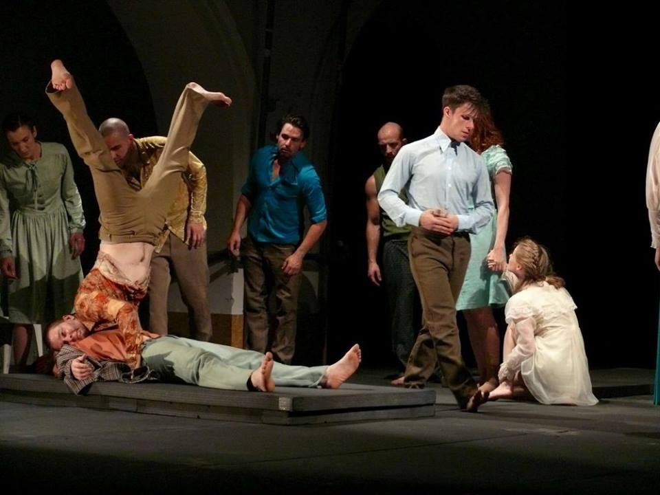 7.Forte Társulat – Szkéné Színház (Budapest): Bűn és bűnhődés. Fotó: Révész Róbert, forrás: MASZK Egyesület