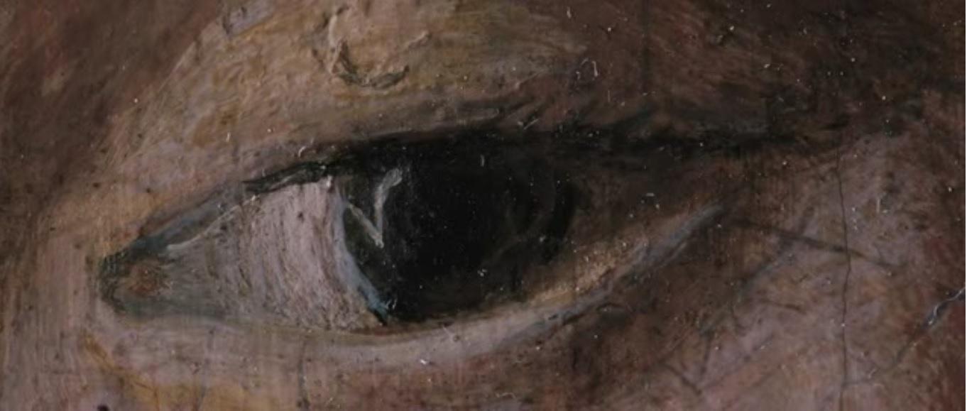 A Petrus Christus-képen szereplő lány szeme a film szerint