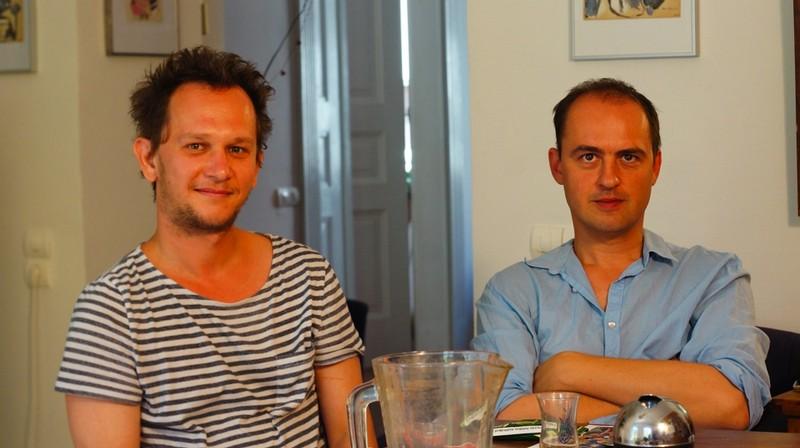 Hevesi Nándor (balra) és Szilágyi Kornél (jobbra)