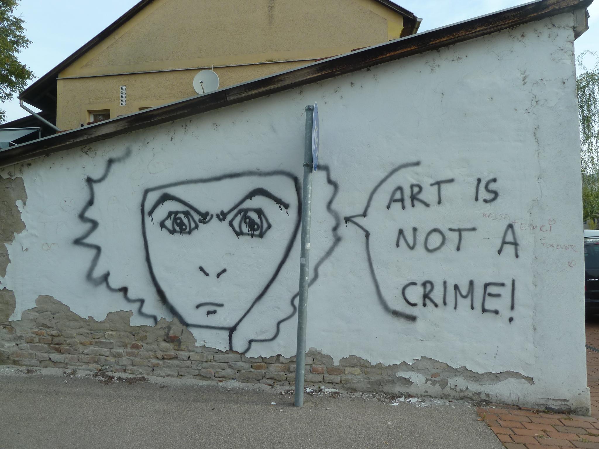 A street-art (szegedi) védelmezője